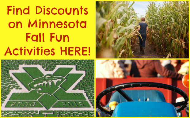 Minnesota Fall Fun Discounts