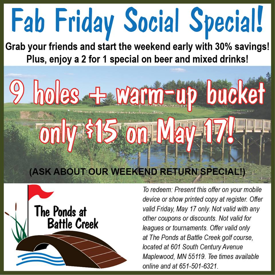 Ponds at Battle Creek Golf Course Discount