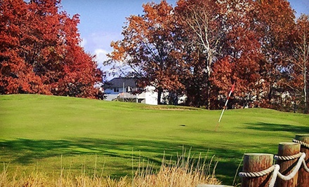 fall golfing