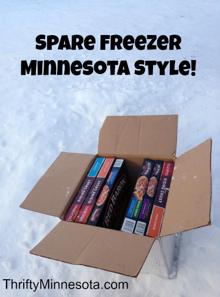 Spare Freezer Minnesota Style - Friday Fun