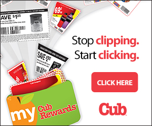 Digital Coupons Cub Rewards Card