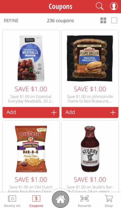 Cub Foods App Digital Coupons