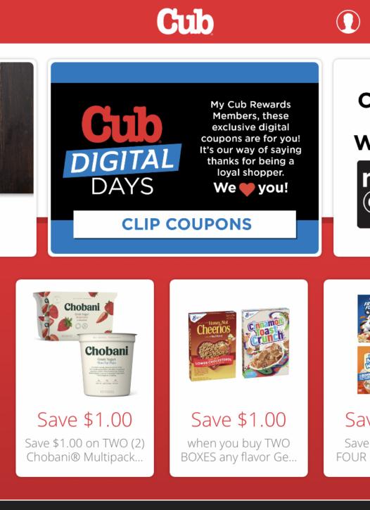 Cub Foods app