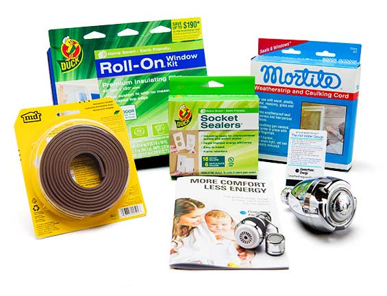 Free energy efficiency kit for centerpoint energy for Energy efficiency kits