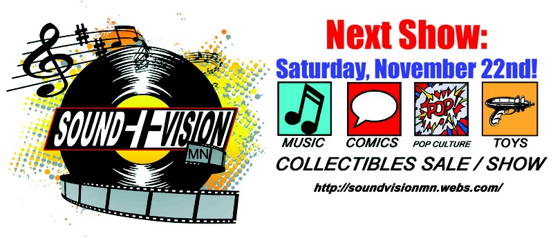 Free Sound Vision Mn Pop Culture Collectibles Show In