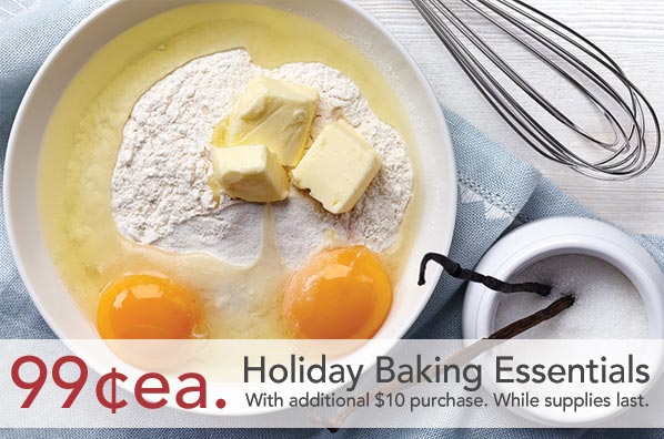 Lunds Holiday Baking Sale