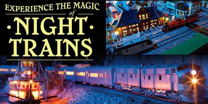Twin City Model Railroad Museum Night Trains