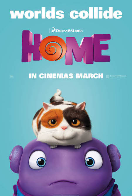 Dreamworks Home Poster