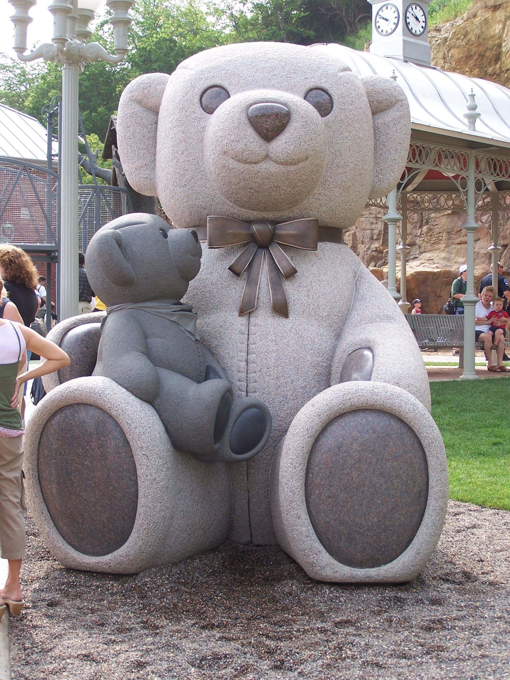 Stillwater Teddy Bear Park Statue