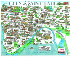 City of st. paul map