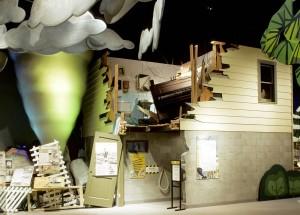 MN History center tornado exhibit