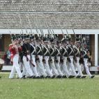 Fort Snelling marching