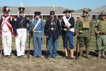 memorial day military history living timeline fort