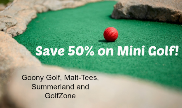 Mini Golf Deals