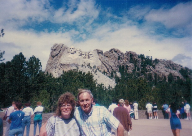 Mount Rushmore Mom Dad