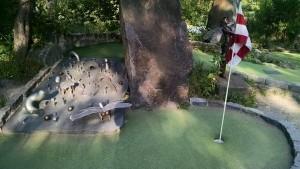 Big stone golf game