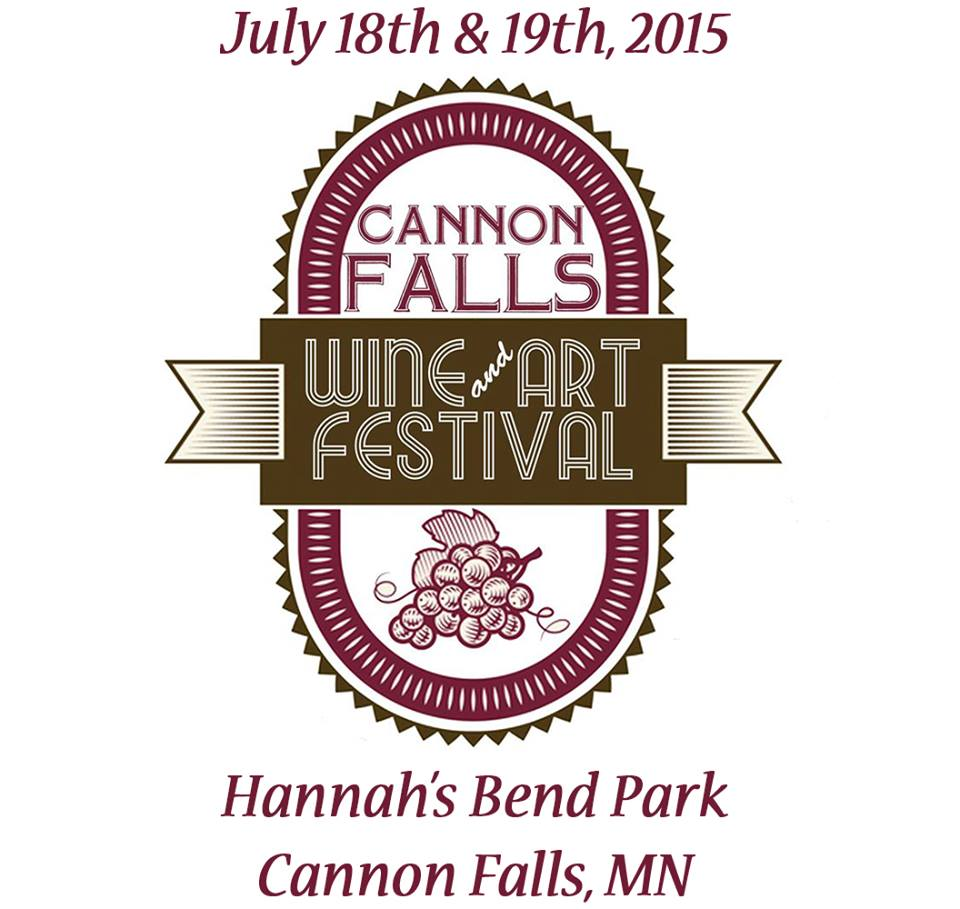 Cannon falls wine and art festival july 18 19th thrifty for Wine and painting mn