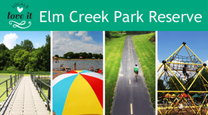 Elm Creek park Logo