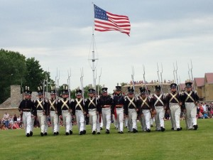 Fort Snelling Parade