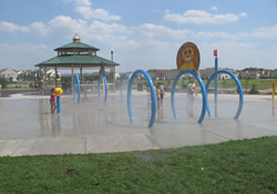Kelly park splash pad