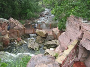 Pipestone Natl Mon falls