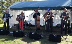 Blue Groove Bluegrass Band tonight at Como Park Lakeside Pavilion