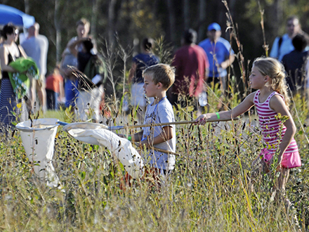 Party in The Prairie at the Richardson Nature Center in Bloomington on Sep 19th