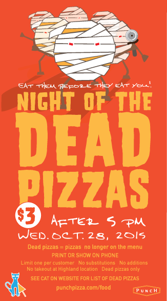 Punch Pizza 3 Dead Pizzas Today Only Thrifty Minnesota Use custom templates to tell the right story for your business. punch pizza 3 dead pizzas today only