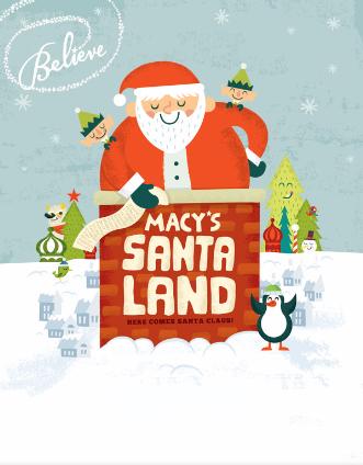 Macy's Santa Land
