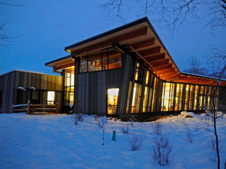 Nature-themed Wrapping Paper event today at Eastman Nature Center