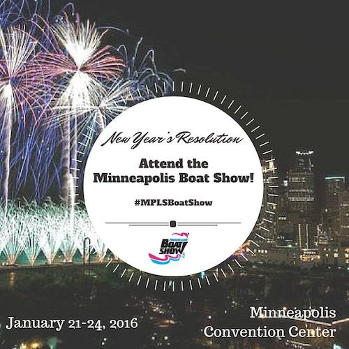 2016 Minneapolis Boat Show New Year