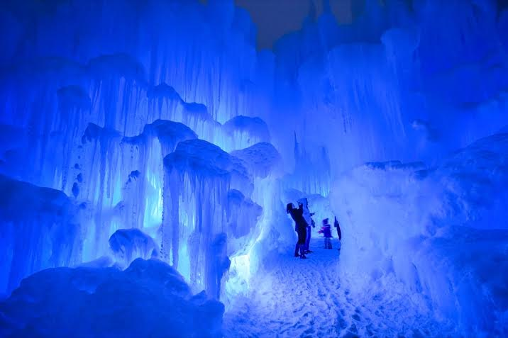 Ice Castle in Eden Prairie