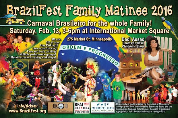 Discount Tickets for BrazilFest Family Carnaval