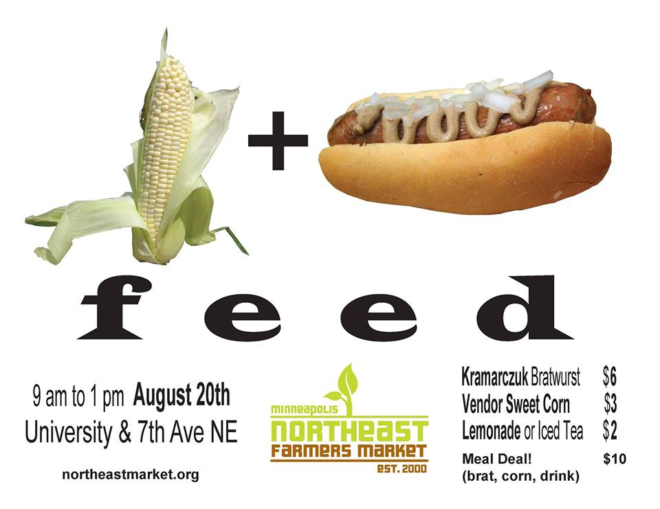 Corn and Brat Feed Today