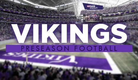 Get Vikings Preseason Games Discount Tickets