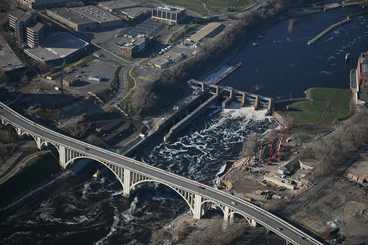 Lower St. Anthony Falls Lock and Dam, Minneapolis, Minn.