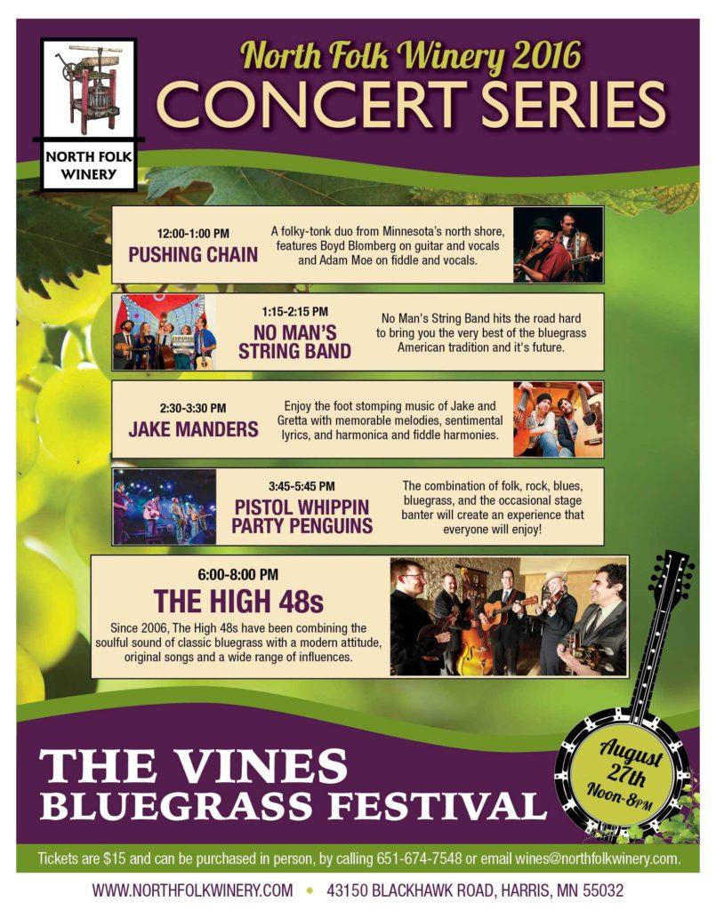 The Vines Bluegrass Festival