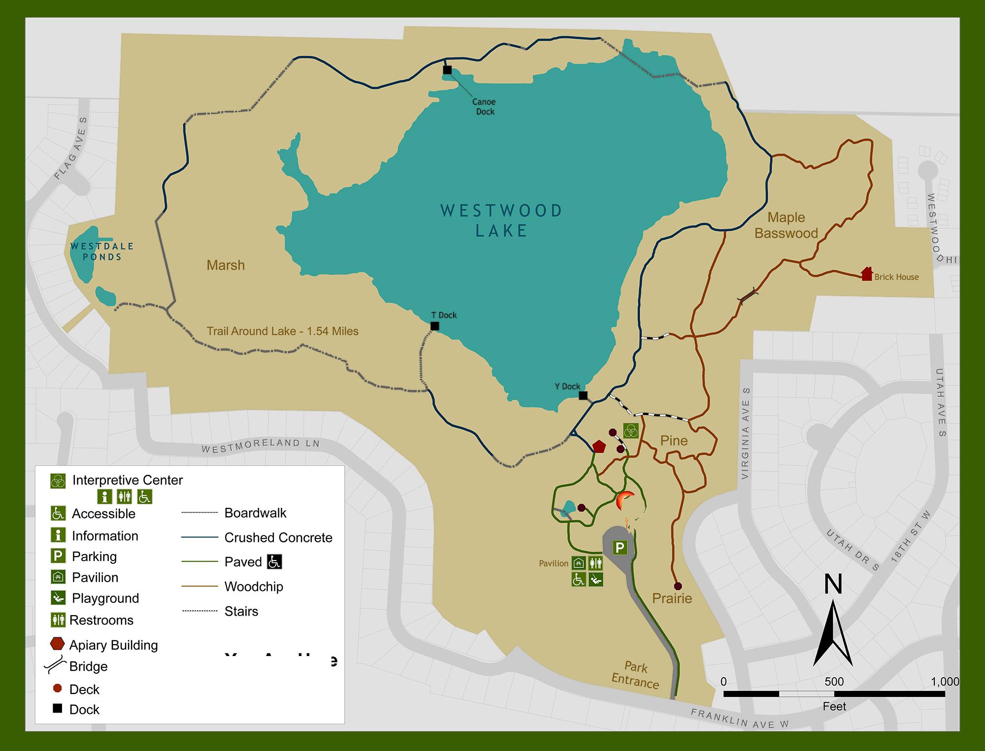 Westwood Hills Nature Center Trail