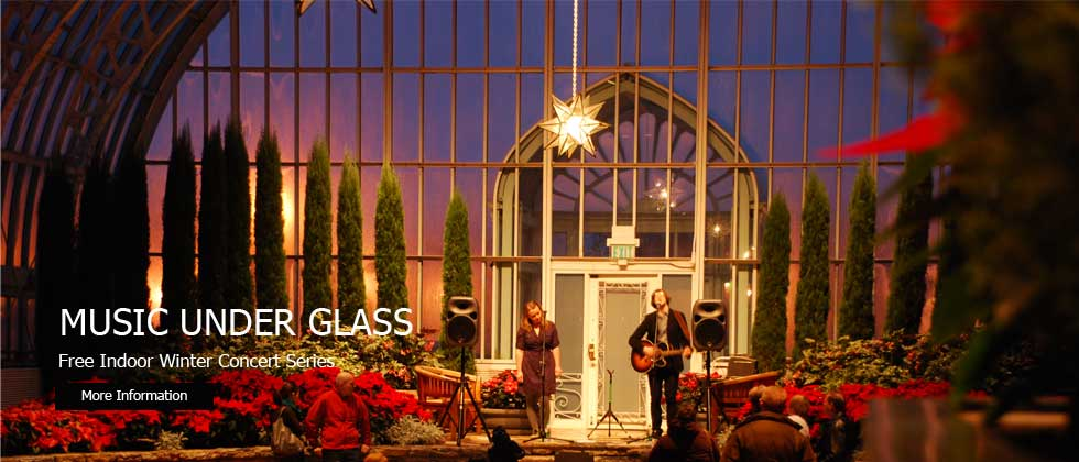 Music Under Glass: Como Zoo Conservatory