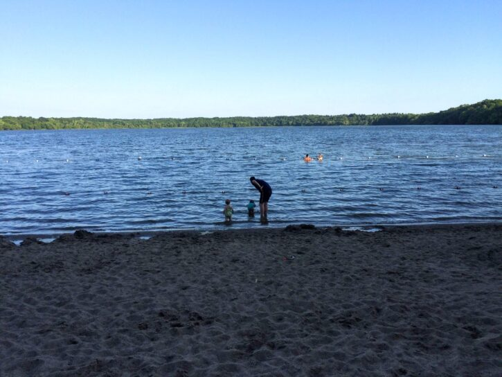 Lake Rebecca Beach