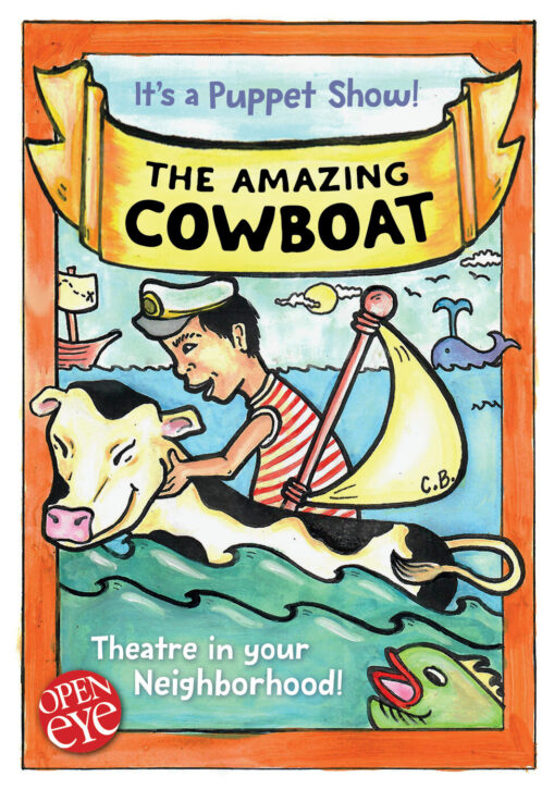 The Amazing Cowboat poster