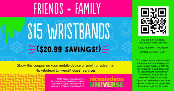 Nickelodeon Universe coupons. 1, likes · 2 talking about this. Un-Official Nickelodeon Universe coupons Fan Page for Nickelodeon U Lovers | Promo.