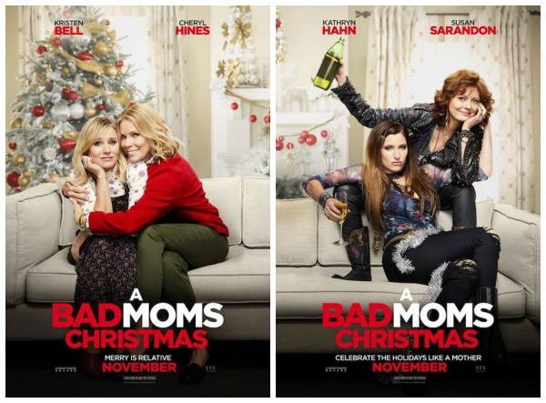 A Bad Moms Christmas Movie Poster.A Bad Moms Christmas Advance Screening Ticket Giveaway