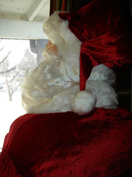 Santa at Sensory Friendly Event