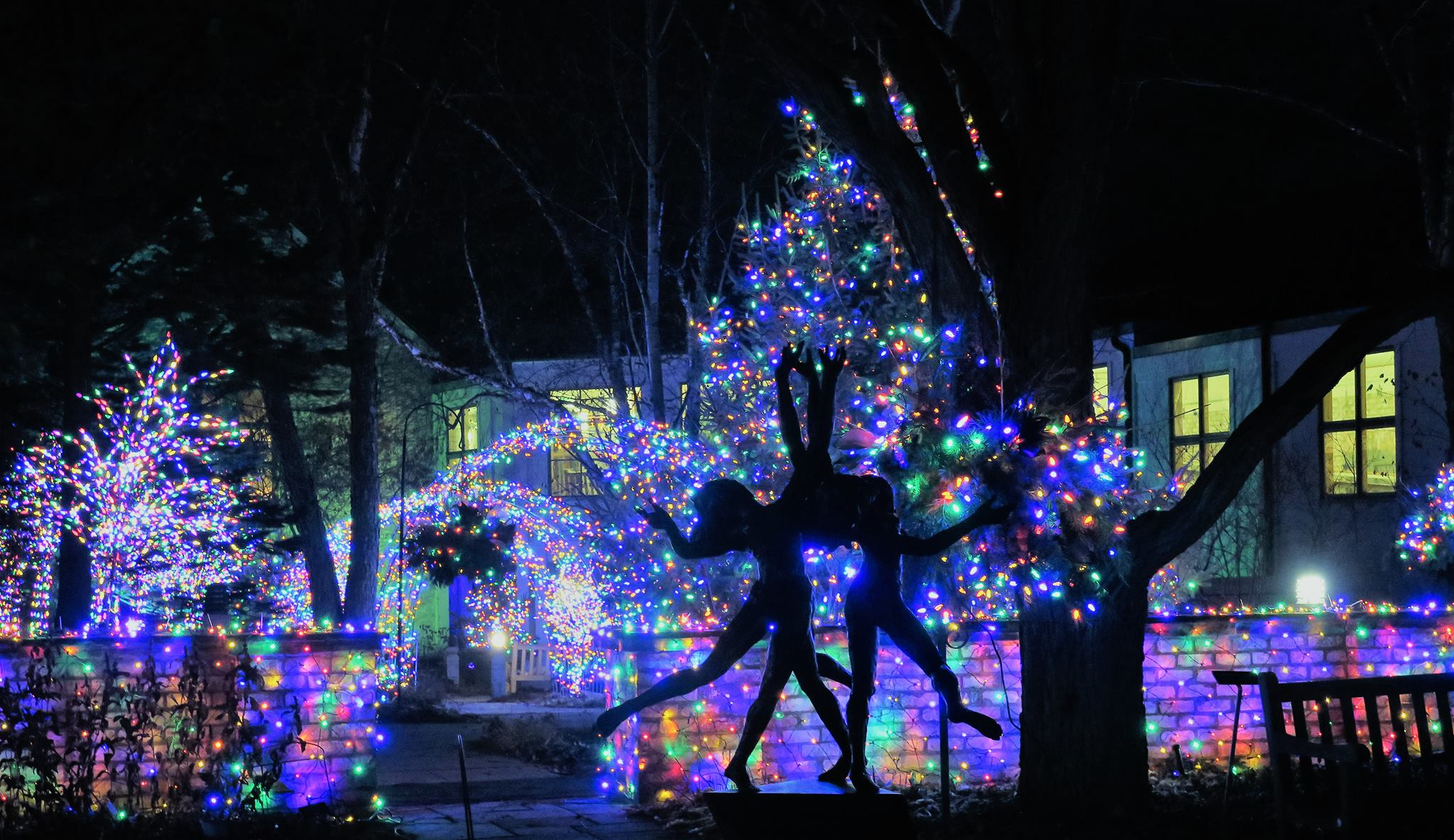Great We Love To Find Holiday Light Displays This Time Of Year. I Just Discovered  One To Add To The List, The Arboretum After Hours Holiday Lights Display.
