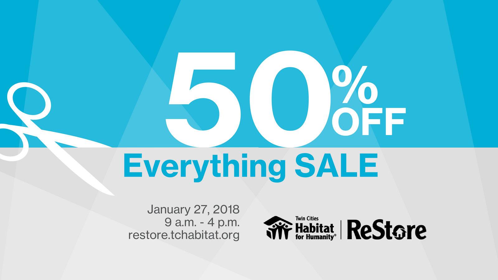 Restore Annual 50 Off Everything Sale Thrifty Minnesota