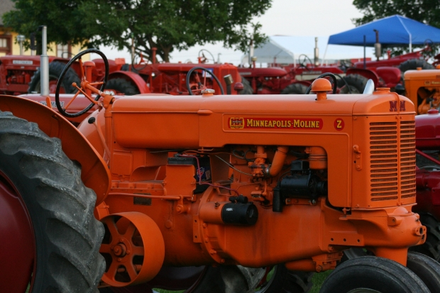 Minneapolis Moline Tractor Event