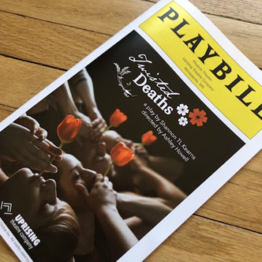 Twisted Deaths Playbill Minneapolis
