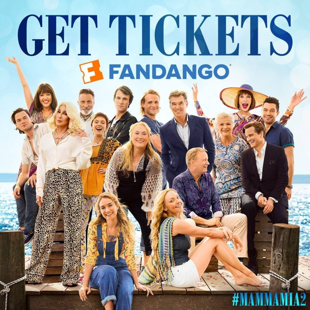 MammaMia2 - Get Tickets Now