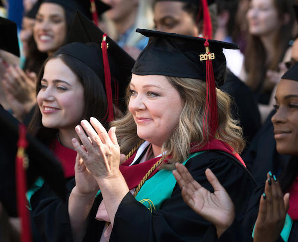 Melissa McCarthy Life of the Party Graduation